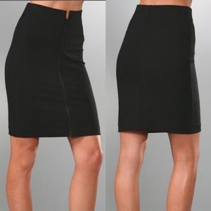 NWT Theory Ansena Pencil Zip Skirt Sz 6